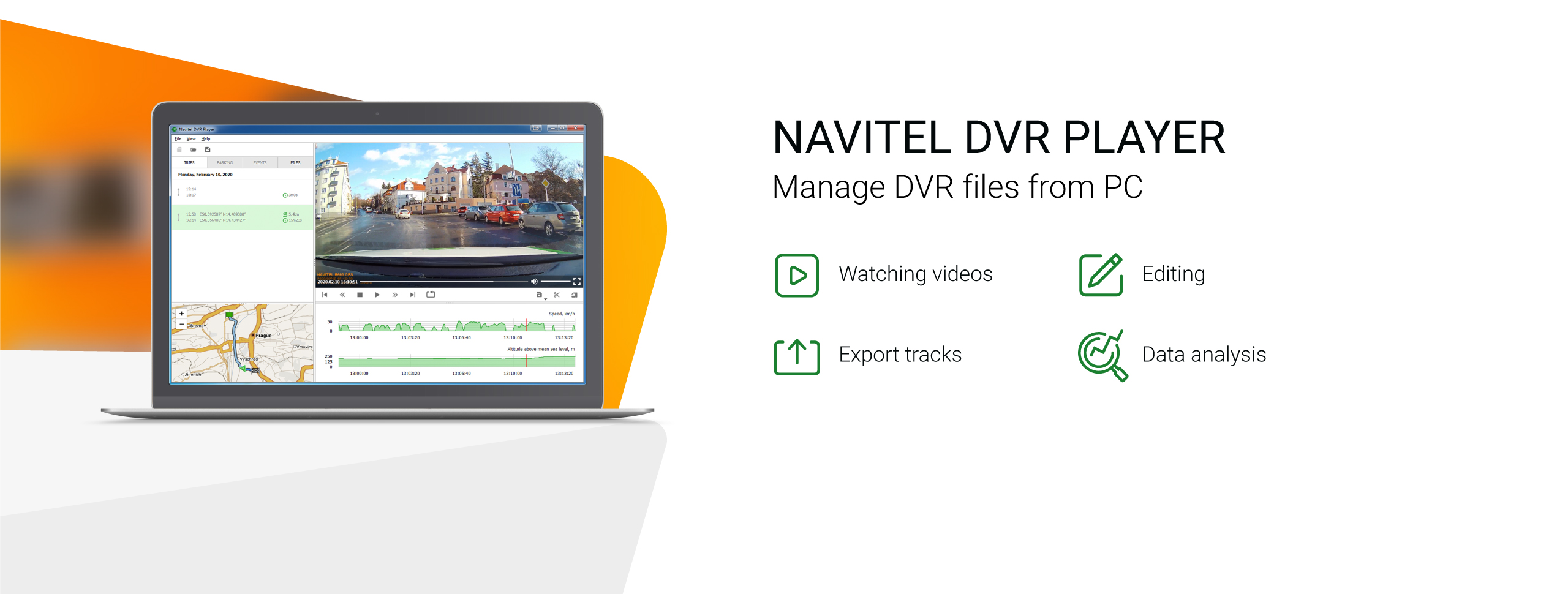 New program – Navitel DVR Player