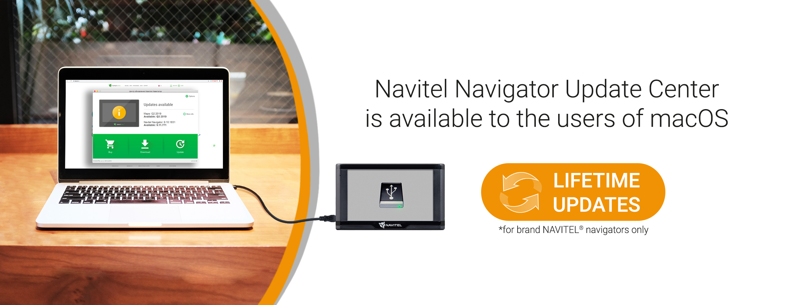 Navitel Navigator Update Center to the users of macOS