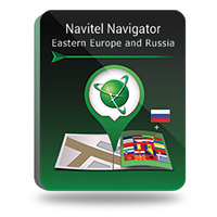 Navitel Navigator. Eastern Europe and Russia